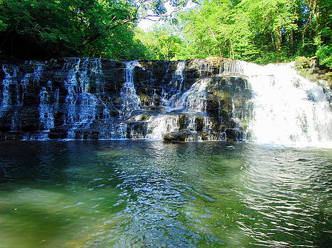 Rutledge Falls Tennessee by Bo  Watson