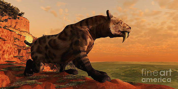 Corey Ford - Saber-Toothed Cat Hunt