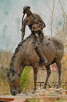 Kae Cheatham - Sacajawea Statue