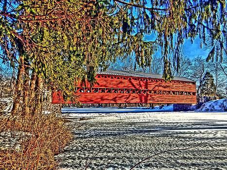 Sachs Bridge by L Granville Laird