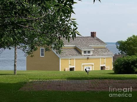 Sacketts Harbor Boat House by Kevin Croitz
