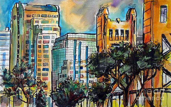 Sacramento Scene by Terry Banderas
