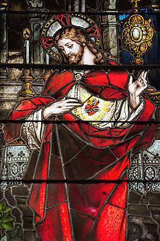 Sacred Heart of Jesus by Bonnie Barry