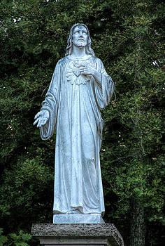 Sacred Heart of Jesus by Joan Bertucci