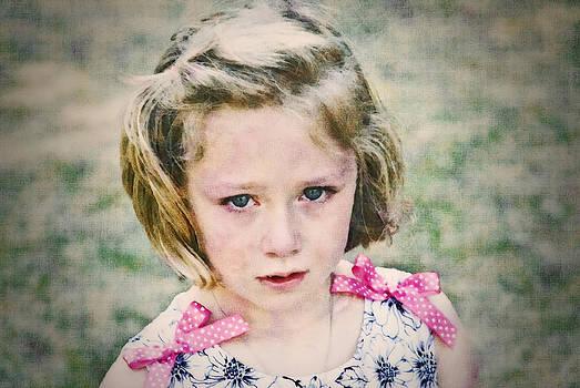 Sad Girl Digital Art by Susan Leggett
