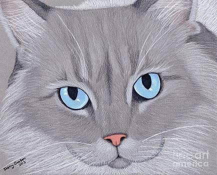 Sadie's Soulful Eyes by Sherry Goeben