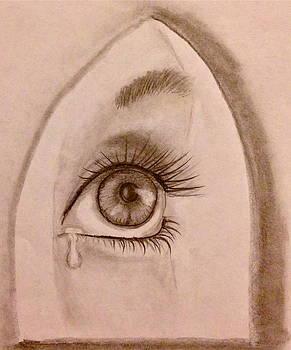Sadness in the Eye by Bozena Zajaczkowska