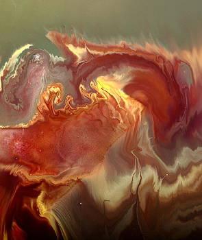 Sahara Dreams Fluid Abstract Art by kredart by Serg Wiaderny
