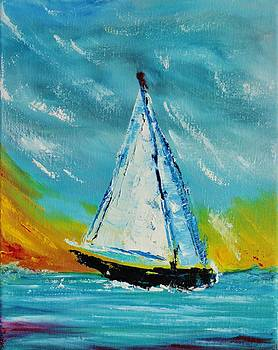 Sail Away 3 by Julie Lourenco
