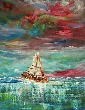 Sail Away 4 by Julie Lourenco