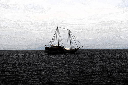 Sail In The Black Sea by Vijinder Singh