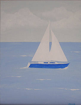 Sail On Silver Girl by Debbie Kiewiet