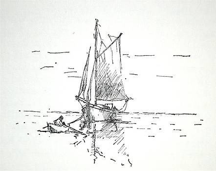 Sailboat #39 by Rs Lewis