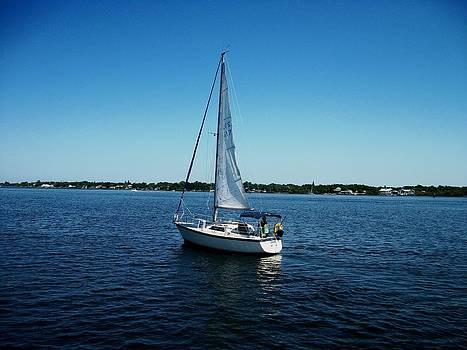 Sailboat by Bruce Kessler