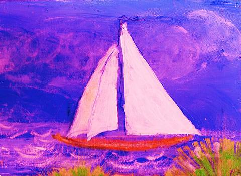 Anne-Elizabeth Whiteway - Sailboat from a Child