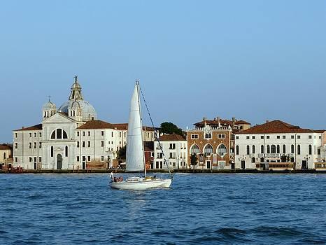 John Tidball  - Sailboat on the Giudecca