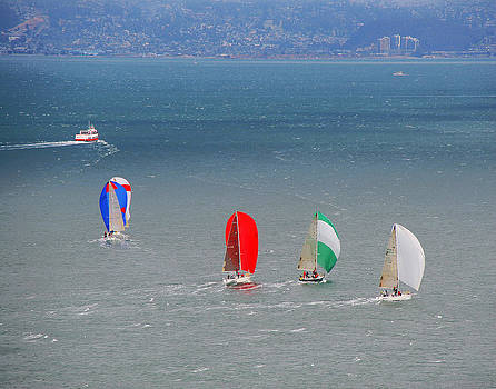 Tom Kelly - Sailing at the golden Gate