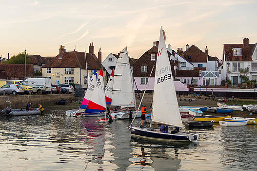 Sailing home by Trevor Wintle
