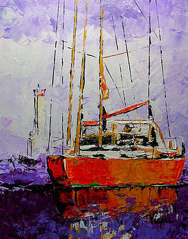 Sailing in the Mist by Vickie Warner