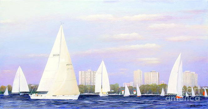 Sailing the Britannia  by Al Hunter
