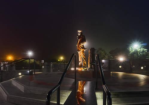 Sailor Monument Golden Gate Bridge by Phil Clark