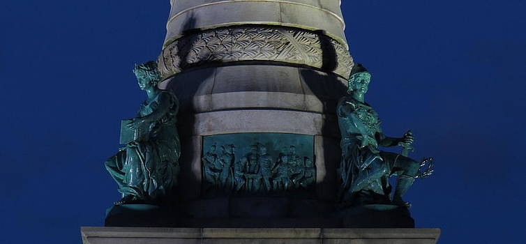 Sailors and Soldiers Monument by Night by Stephen Melcher