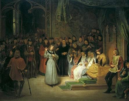 Saint-evre, Gillot 1791-1858. Joan by Everett