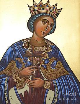 Saint Kateryna Icon by Kateryna Kurylo