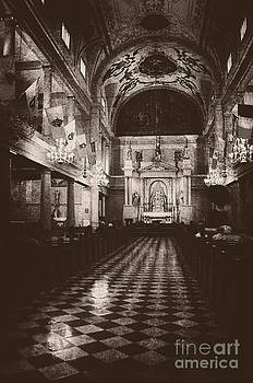 Kathleen K Parker - Saint Louis Cathedral New Orleans black and white
