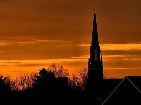 Saint Marys at Sunrise by Jennifer Wheatley Wolf