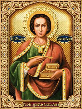 Saint Panteleimon by Stoyanka Ivanova