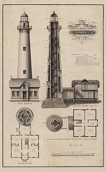 Jerry McElroy - Public Domain Image - Saint Simon Lighthouse