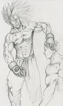 Saiyan Dominator by Michael Briggs