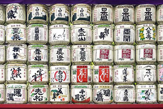 Sake Barrels by Scott Kerrigan