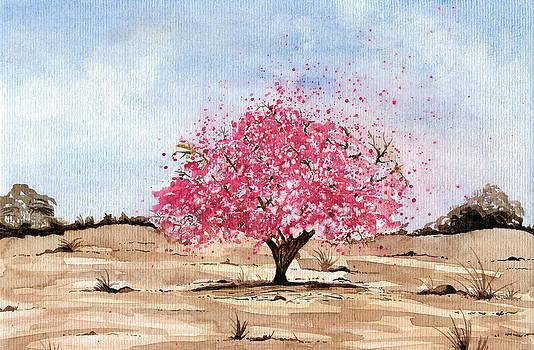 Sakura tree by Aline Reolon