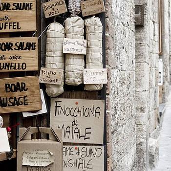 Salame - Tuscany by Lisa Parrish