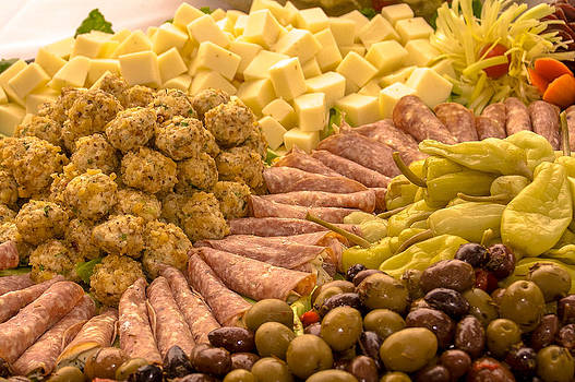 Salami Catering Tray by Lisa Anne McKee