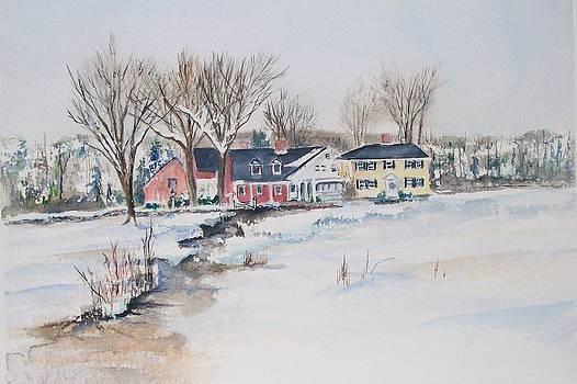 Salem Cross Inn by Michael McGrath