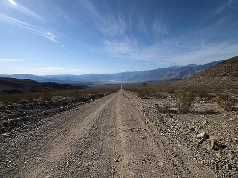 Saline Valley Road Death Valley by Joe Schofield