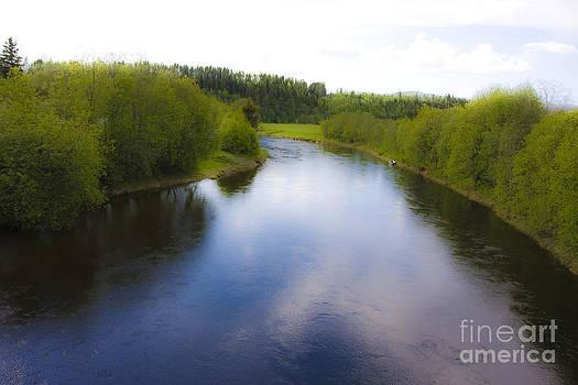 Salmon Catchers Club - Bjora River Norway. Doctor Andrzej Goszcz. by  Andrzej Goszcz