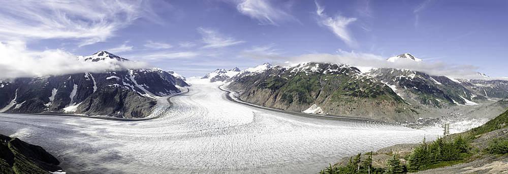 Salmon Glacier by Lisa Hufnagel