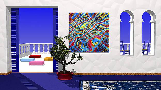 Salon Bleu by Andreas Thust