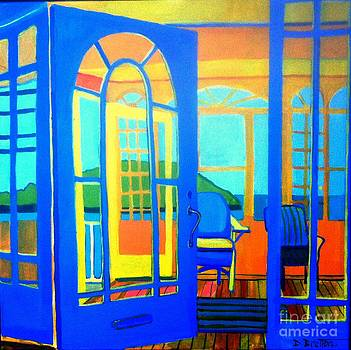 Salt Island Sunporch Gloucester by Debra Bretton Robinson