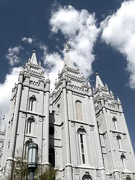Salt Lake Temple by Crissy Boss