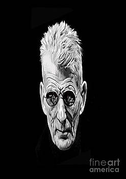 Samuel Beckett by Francis Leavey