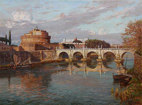 San-Angelo castle by Korobkin Anatoly