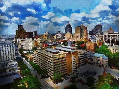 San Antonio by Cary Shapiro