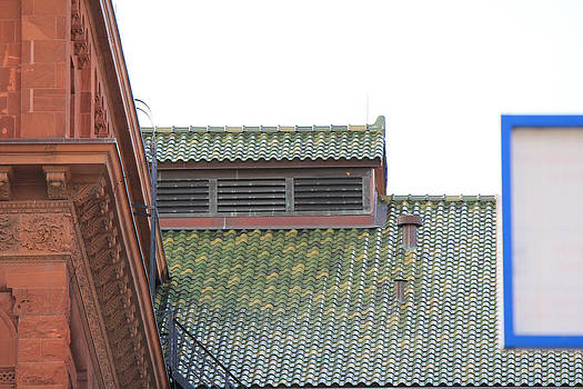 San Antonio Roof Line by Carrie Godwin