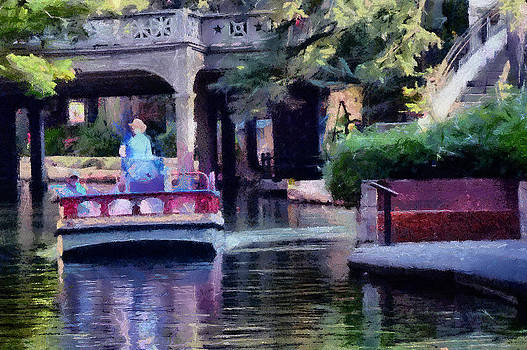 San Antonio Scene by Cary Shapiro