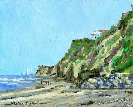San Diego Beach House Hill by Shalece Elynne